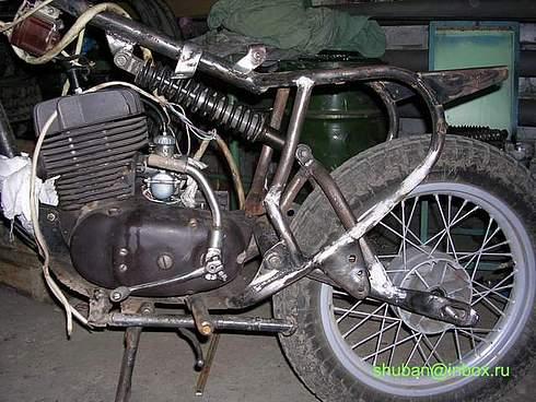 Как сделать раму на мотоцикл