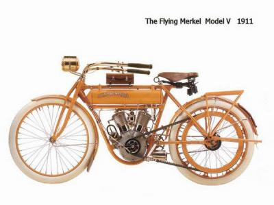 The flying Merkel Model V 1911